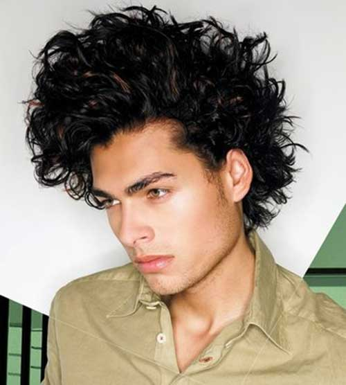 Curly Hairstyles for Men-10