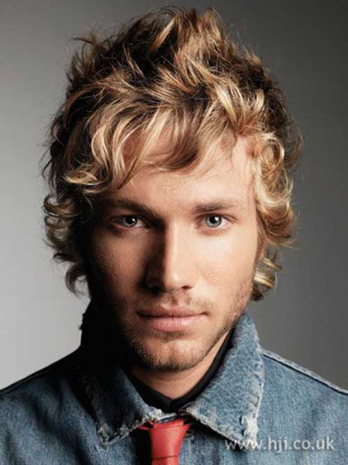 Curly Hairstyles for Men-12