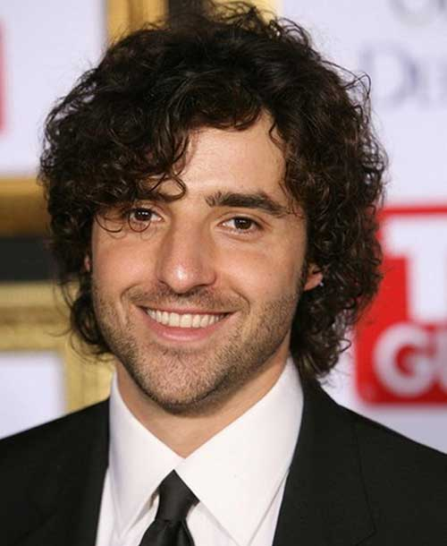 Curly Hairstyles for Men-6