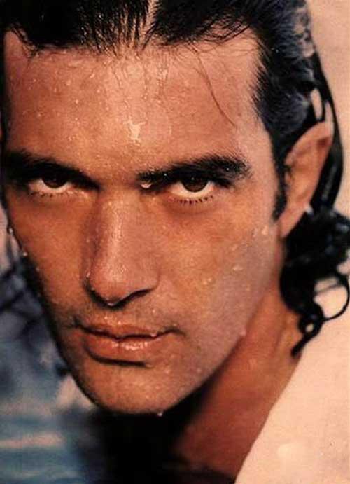 Antonio Banderas Long Hairstyles