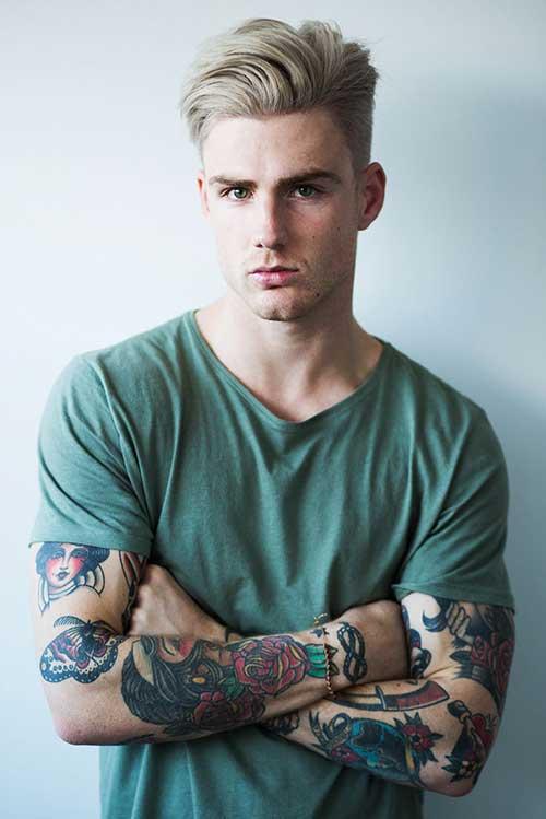 Peachy 15 Blonde Hairstyles For Guys Mens Hairstyles 2016 Hairstyles For Women Draintrainus