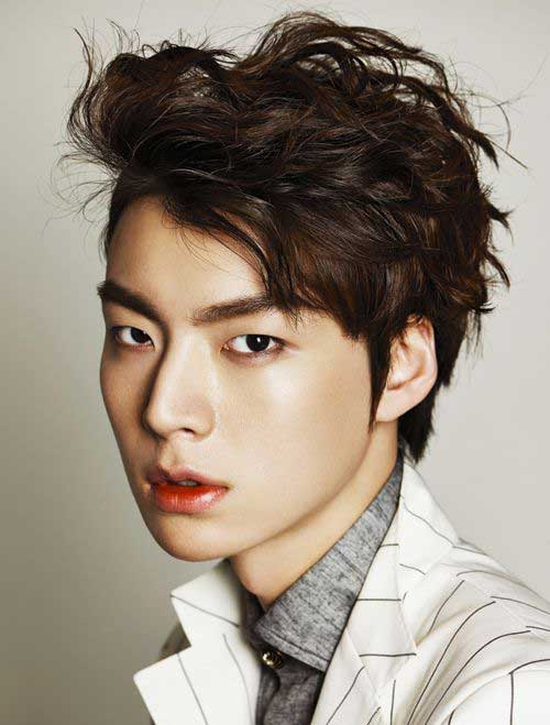 Asian Male Celebrity Hairstyles