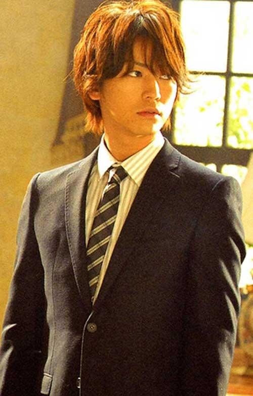 Asian Men Long Medium Hairstyle