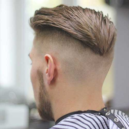 Back View of Short Back and Sides Mens Haircut Pictures