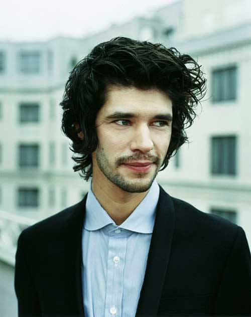 Ben Whishaw Hairstyles