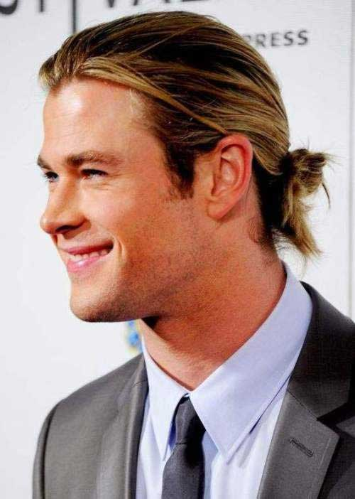 Best Long Hairstyles Buns for Guys