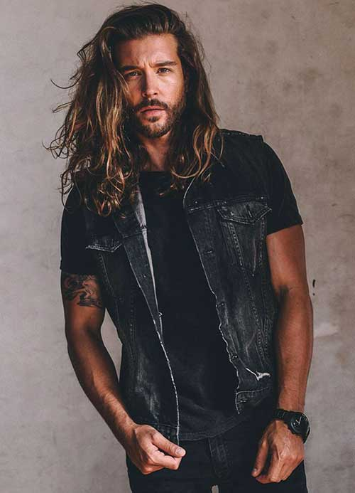 Best Long Messy Hairstyles for Guys