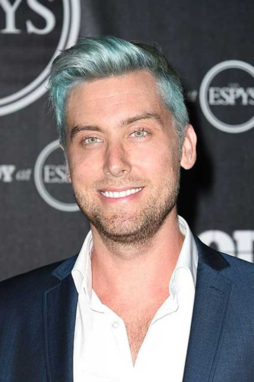 Men Grey Hair Color