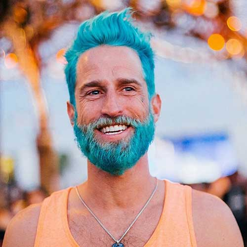 Merman Hair Color for Men