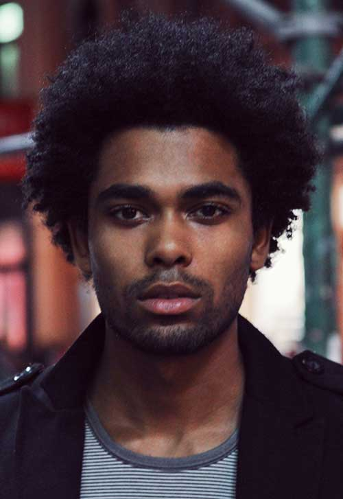 Black Men Afro Hairstyles Trends 2015