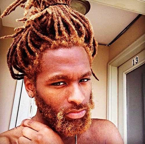 Black Men Dreads Hairstyles 2015