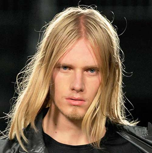 Blonde Guys Long Straight Hair Ideas