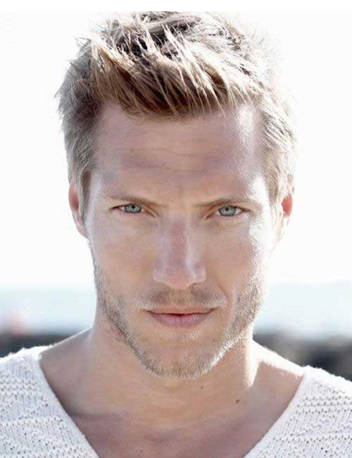 Swell 15 Blonde Hairstyles For Guys Mens Hairstyles 2016 Short Hairstyles For Black Women Fulllsitofus