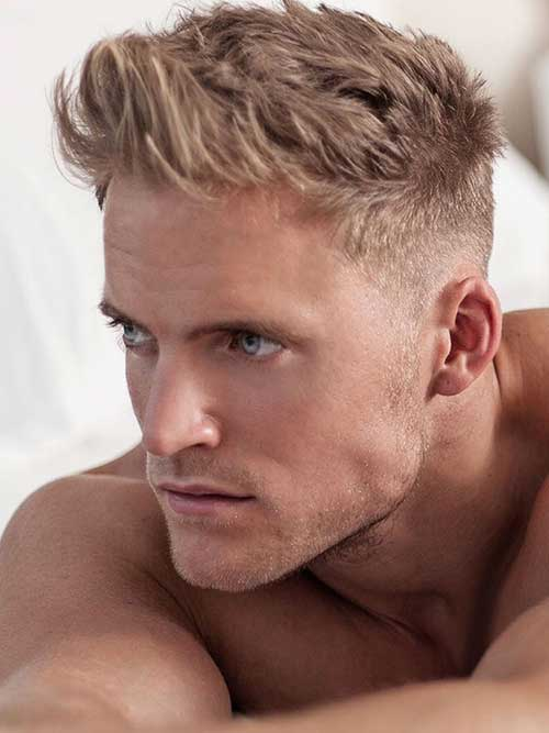 Blonde Hairstyles for Guys 2015