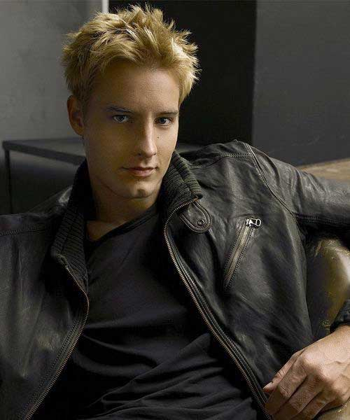Stylish Blonde Spiky Hairstyles for Guys