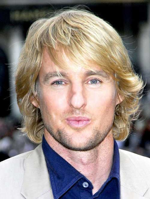 Best Blonde Straight Shaggy Hair for Guys
