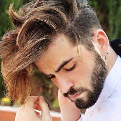 New Model Hair Style : Latest New Trendy Guys Hairstyles Male Models Picture