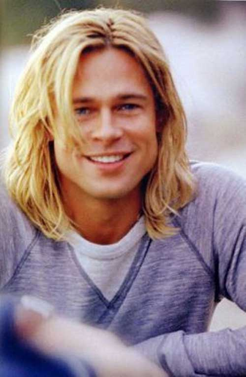 Brad Pitt Long Hair Styles