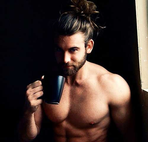 Brock O'Hurn Long Hair Bun