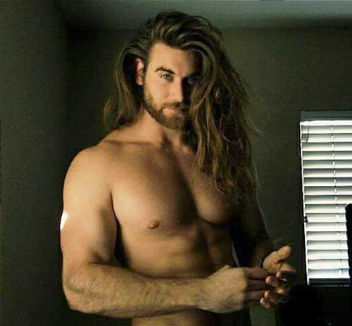 Brock O'Hurn Long Hairstyles