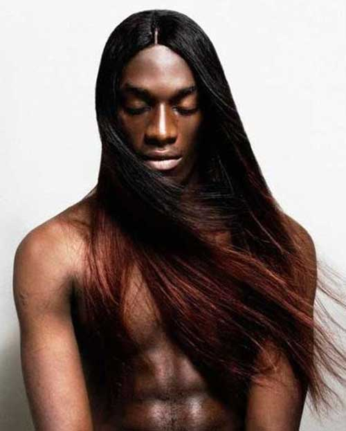 10 Black Men With Brown Hair Owesome Hairstyle For Man