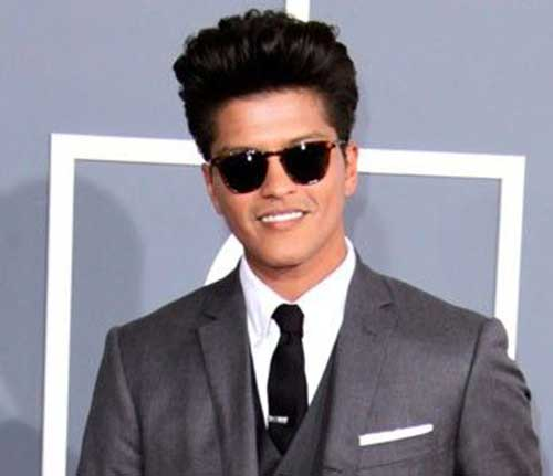 Best Bruno Mars Hairstyles