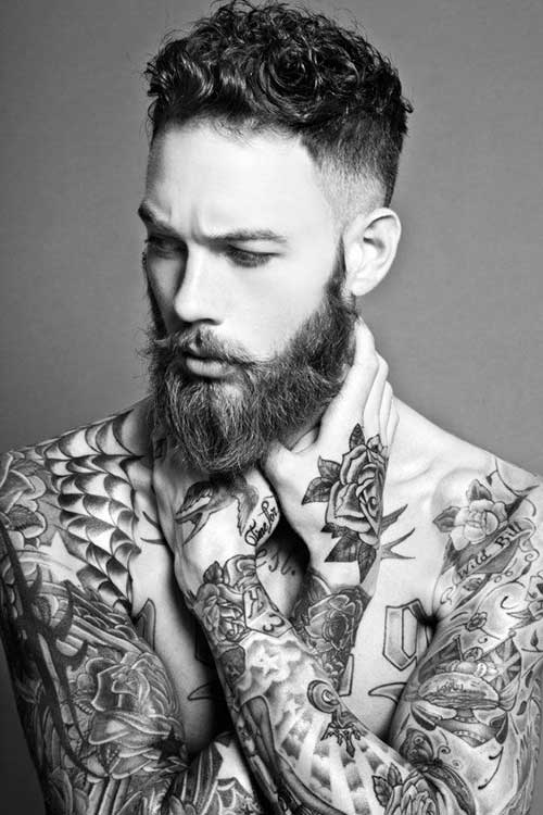 Celebrity Male Faded Cut Hairstyles