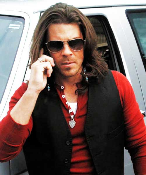 Christian Kane Long Hairstyles