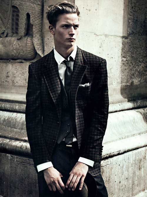 Classy Male Short Hairstyle 2015