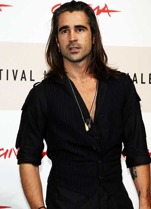 Colin Farrell Long Hairstyles