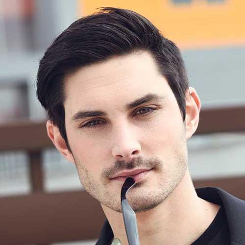 Cool Dark Short Hair for Men