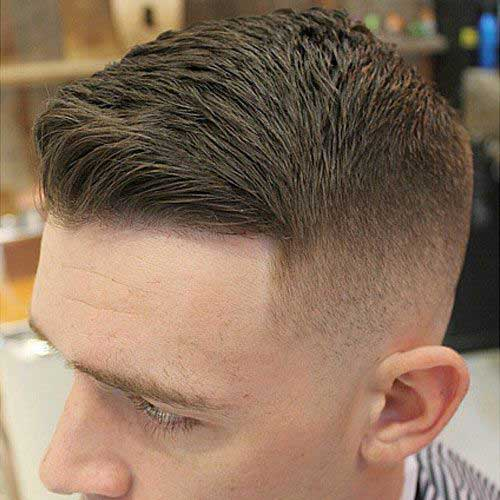Cool Hairstyles for Men with Faded Short Hair