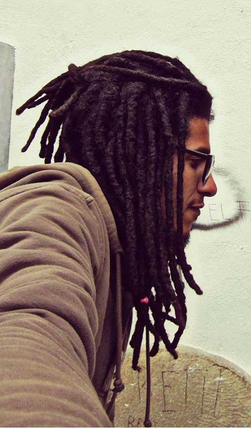 Cool Long Dreads Hairstyles Men