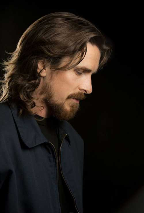 Christian Bale Cool Long Hairstyles