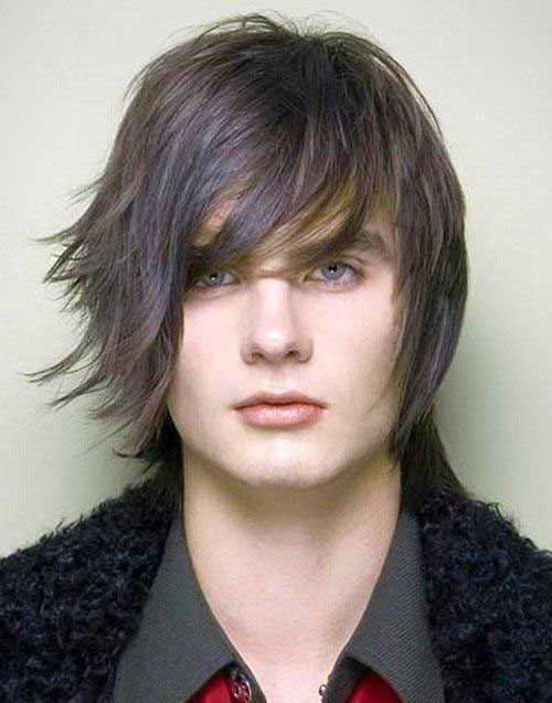 Cool Long Mens Layered Hairstyles