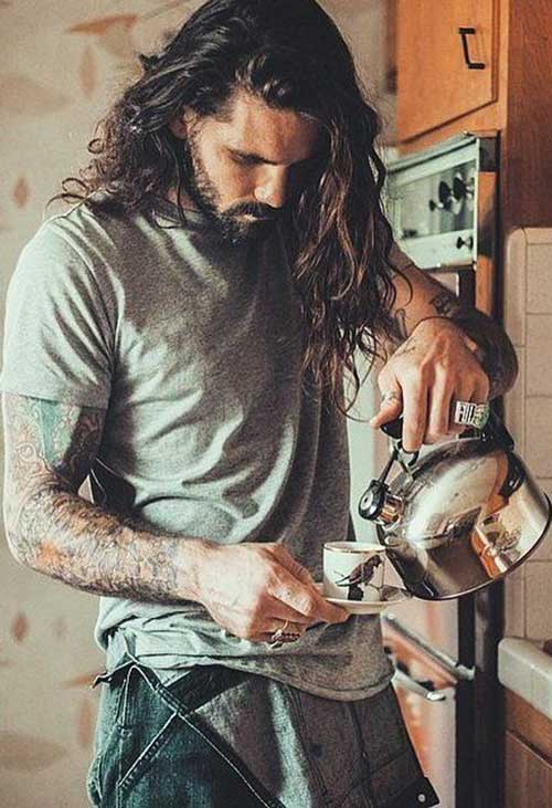 Cool Mens Long Hair Styles