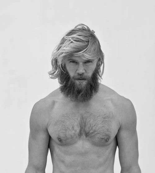 Cool Messy Long Hairstyles for Men