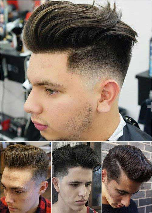 Best Cool Short Dark Haircuts for Men