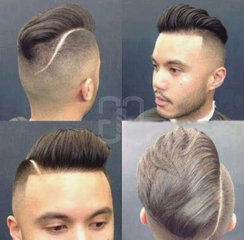 Cool Short Shaved Mens Haircuts