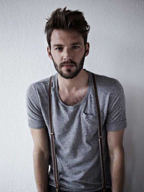 Great Cool Simple Hairstyles for Men