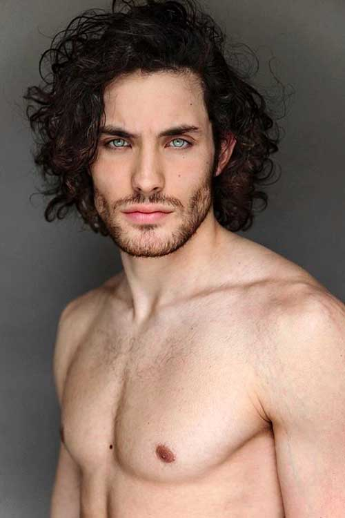 Curly Men Long Hair Styles
