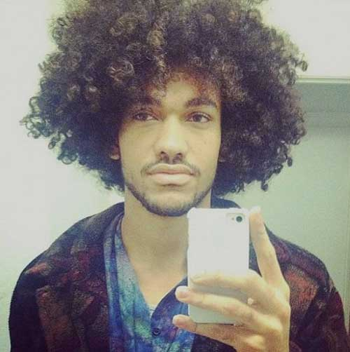 Cute Afro Natural Hair Styles for Men