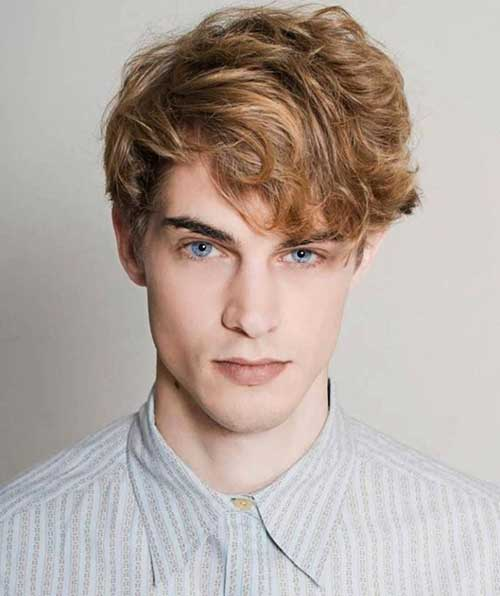 Cute Wavy Haircuts for Men