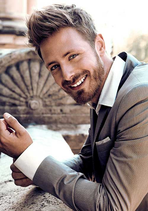 Cute Light Brown Hairstyles for Men
