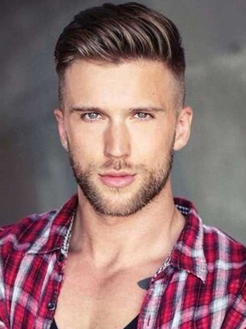 Cute Shaved Side Men Hairstyles