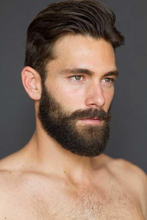 Dark Brown Hair Styles for Men