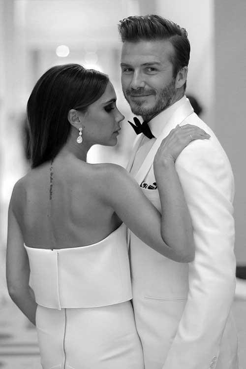David Beckham Classy Hairstyles 2015