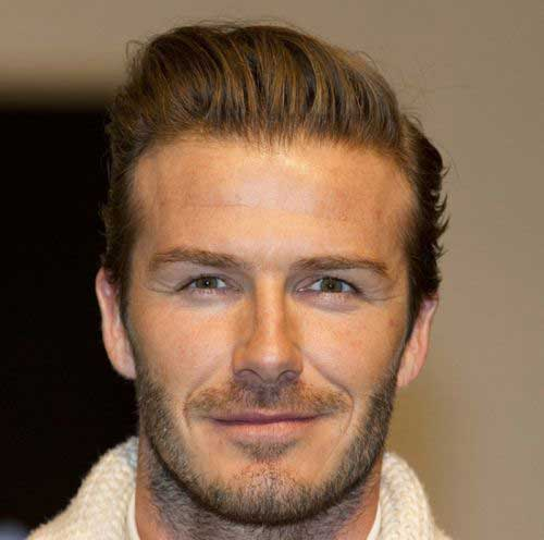 David Beckham Cool Short Hairstyles 2015
