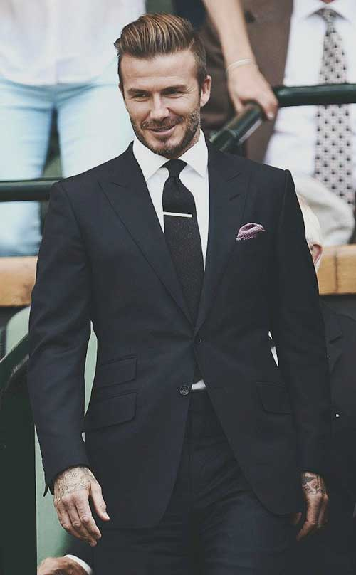 David Beckham Hair Cuts 2015