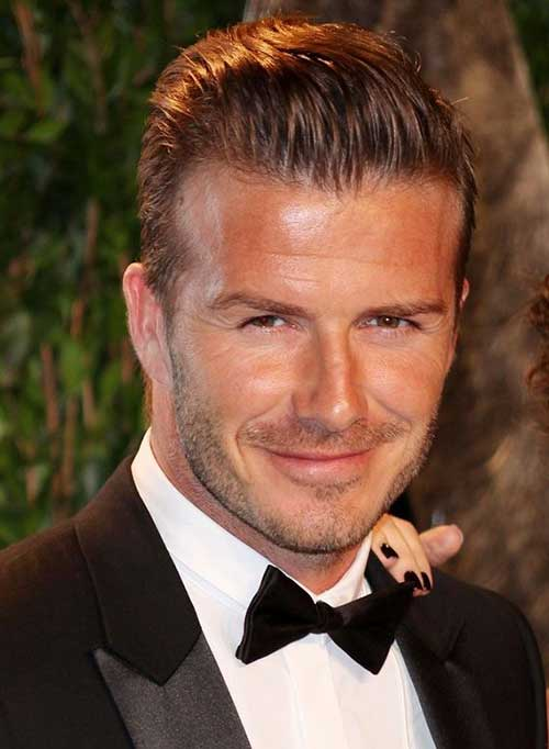 David Beckham Best Hairstyles 2015